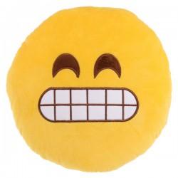 Cojín emoticono mueca 30 cm.