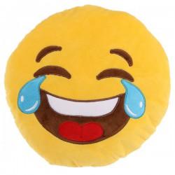 Cojín emoticono llorando de risa 30 cm.