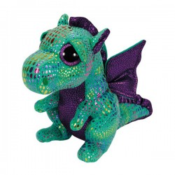 Peluche TY Beannie Boos 15 cm. Dinosaurio verde