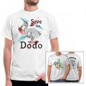 Camiseta personalizada con fotos 2 caras