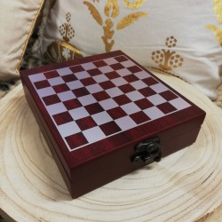 Set Vino 5 piezas + Ajedrez