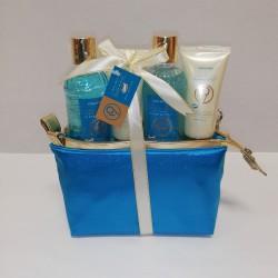 Neceser aromaterapia azul