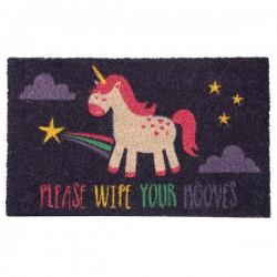 Felpudo unicornio