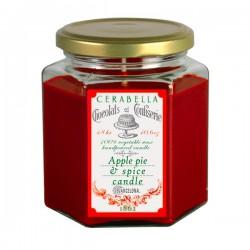 Vela Tarta de manzana y especias 48 horas
