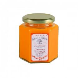 Vela Naranja & canela 15 horas