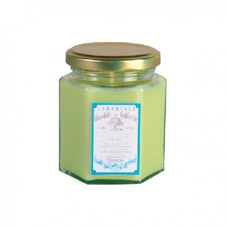 Vela Té verde & magdalenas de crema 15 horas