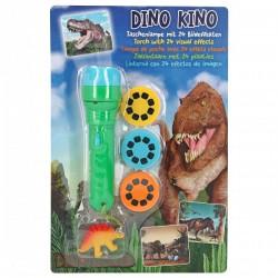 Linterna proyector dinosaurios