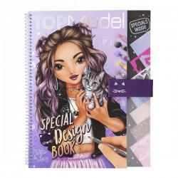 Cuaderno de diseño de moda Top Model